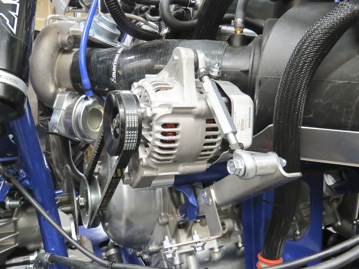 YXZ Alternator Relo Kit for MPI Turbo