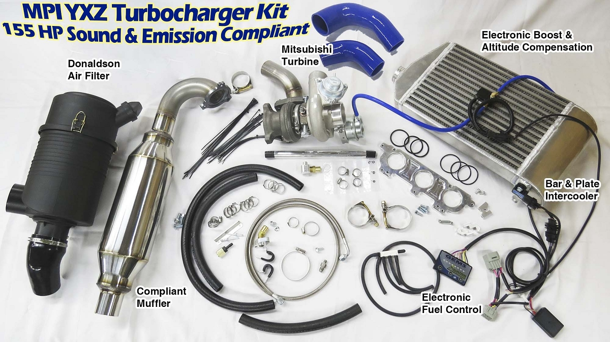 2017 Yamaha Yxz1000r Turbo Of 155hp Turbocharger Kit For The New Yamaha Yxz 1000