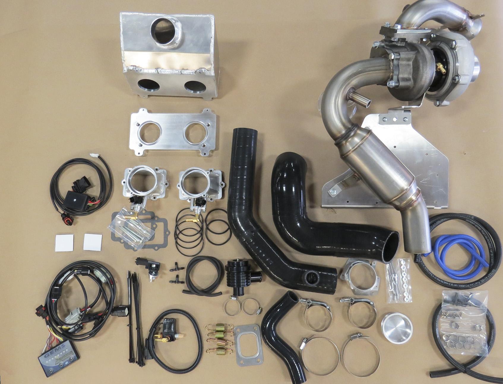 SKiDoo 850 200HP Mtn TurboCharger Kit Complete