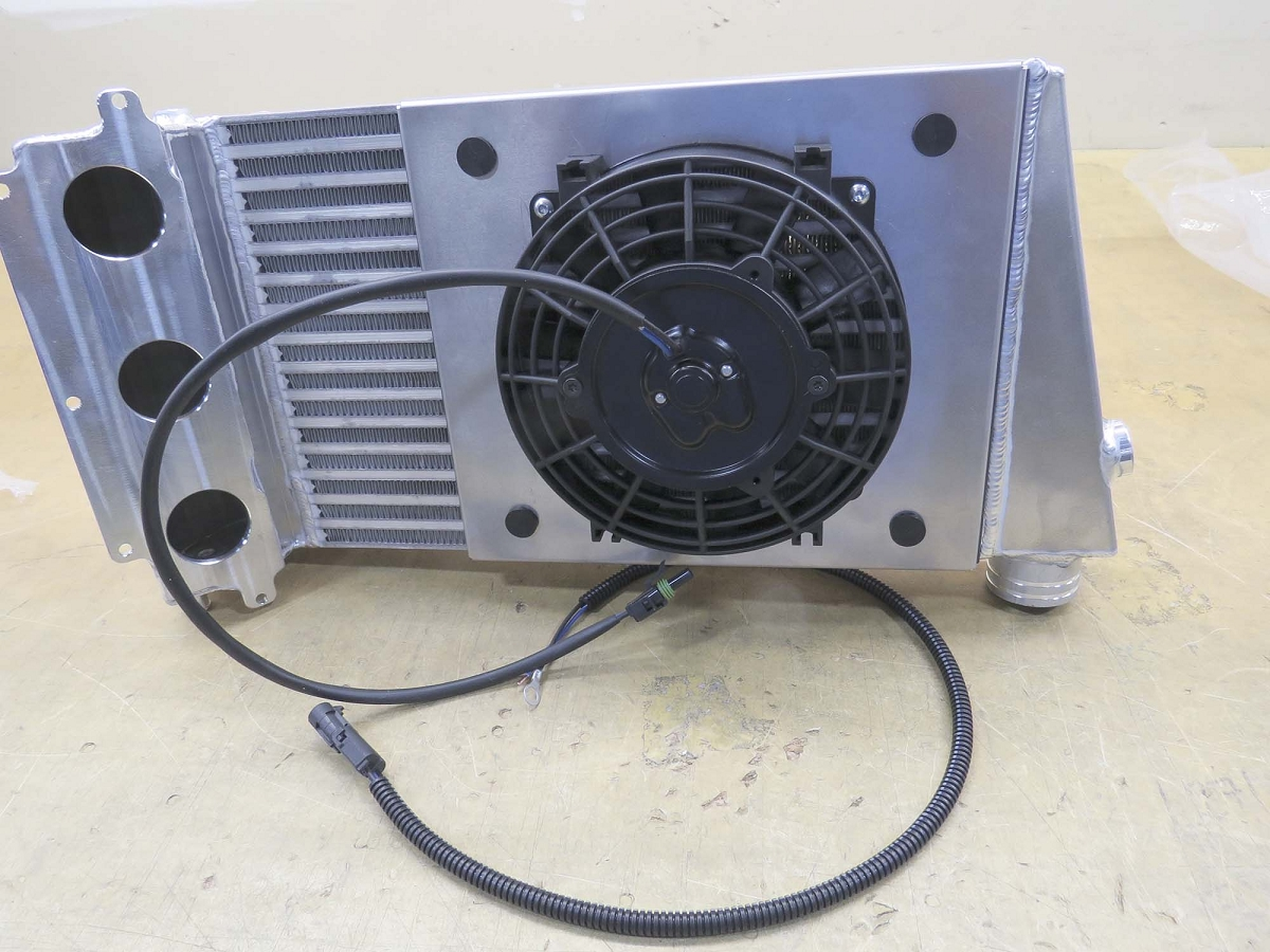 Yxz Intercooler Fan Kit For Mpi Turbo